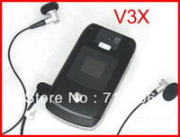 NEW-wholesale original V3X mobile phones original 3G unlocked phones Freeshipping by ems-A