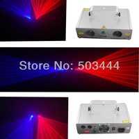 New dj equipment 800mw Red+Blue 4 lens stage dj disco laser light for sale