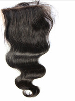 Dinlly hair peruvian body wave lace closures 4bundles no shedding tangle free natural color dhl fast delivery