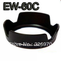 free shipping +whole sale price  brand new! 1pcs Camera EW-60C Lens Hood for Canon 550D 600D 650D 500D 18-55mm