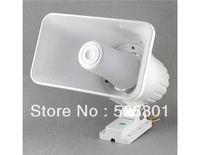 Free shipping + SYD-112 20W Large Size Two-Tone Car Alarm System Horn (White)