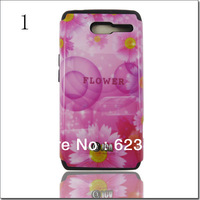 5 Beautiful Design Decoration Cell Mobile Phone Case For Motorola RAZR D3 Phone Cover