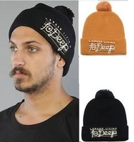 10 Deep beanie hat 2013 new beanies for men and women winter knitted hats free shipping 2 colors