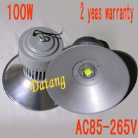 Free shipping ac85-265v  100w led  High bay light, led lumen 10000lm led spotlight 100w 2 years warranty