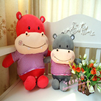 Plush toy hippopotami doll toy doll dolls birthday gift