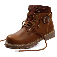size 38-44 Hot 2013 genuine leather fashion snow boots men, winter man shoes and men's winter shoes #Y80083Q-2