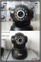 Black Wireless IP Camera F2098A P2P Dual Audio IR Night Vision Monitor Baby Household Cheap, H962