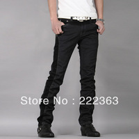2013 Men's  Fashion Casual  black  jeans 6059 Free shipping