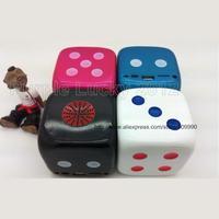 USB Dice Design Mobile Speaker Stereo Loudspeaker Music Player FM TF Card Portable MP3 Sound Box Handfree