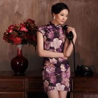 Isn't don served new arrival 2013 banxia thin comfortable print elegant cheongsam women's
