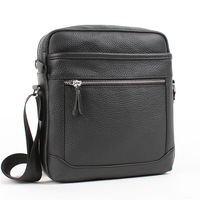 Genuine leather messenger bag man commercial male casual leather bag shoulder bag backpack Men