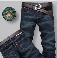 free shipping 2014 New Arrived fashion men's straight jeans wholesale and retail hotsell trousers for men