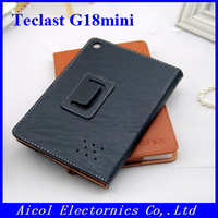 1pcs Free ship! Original PU Leather Case for Teclast G18 mini 8 inch tablet pc