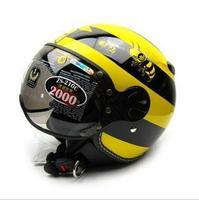 half face Helmet zs-210c motorcycle helmet limited edition vintage bumblebee
