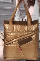 new 2014 winter space cotton bags cotton-padded jacket bag women handbag shoulder glove bag