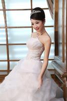 2014 Bridal Dresses Formal Dress Princess Bride Tube Top Wedding Dresses China Free Shipping Wedding Dress