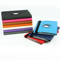 30pcs/lot wholesale woven design 360 Rotating Stands Protection Skin Case Cover for Apple iPad Air