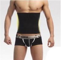 hot Men toning the body underwear men the corset waist belly in plastic belt free shipping