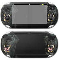 Black Dog Vinyl Decal Sticker for PSP Series, for VITA sticker.