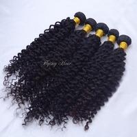 virgin mongolian Curly hair 3pcs & 4pcs lot mix lengths best quality mongolia weave mongolian wavy curl hair  free shipping