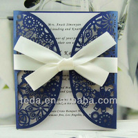 Laser Cutting Wedding Invitations Cards+Envelopes