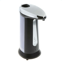 Touch free movable Automatic infrared sensor soap dispenser hand sanitizer bottle powered by battery washroom accessories