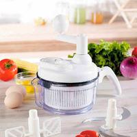Free shipping multifunctional shredder/ Salad Stirrer machine / Multi Food Processor device / Fruits vegetables meat cutter Bulk