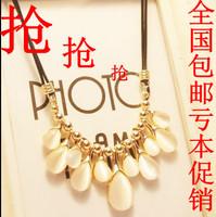 Wind fashion vintage - eye drop type short necklace