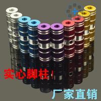 Bicycle foot rail socks mat balancing pole belt bicycle solid rocket tube a pair of
