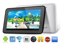 "Vido T10 Tablet PC 7"" 1024x600 pixels Android 4.1 Allwinner A20 Dual Core 1.2GHz WIFI HDMI OTG 512MB RAM 8GB ROM"