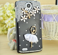 White Ballet Skirt for Lenovo S820/A850/A590/A630/S720/S890 mobile phone crystal shell