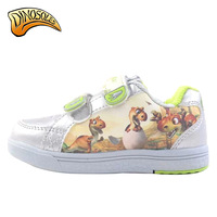 Travel dinosoles autumn cartoon children shoes skateboarding shoes waterproof sports shoes aw3222