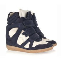 Ash fashion isabel marant genuine leather high-top shoes platform shoes skateboarding shoes sport shoes female