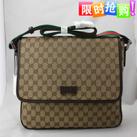 Bags new arrival 2013 men's bag casual business bag shoulder bag cross-body messenger bag 233052