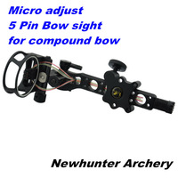 "Bow sight,TP7550,Micro adjust,0.019"" fiber,S.S. tube protect fiber,CNC aluminum machined,detachable bracket,with sight light"