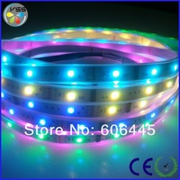 free shipping hot selling christmas decoration light 12V lpd 6803 magic digital dream color rgb led strip