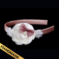 Special Hair Accessories Bowknot Fashion Handmade Flowers Design Hair Band New Style FS13A08052