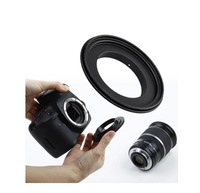 67mm inverted mount for nikon 67mm lens port ring Macro reverse ring back then assistant