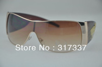 The wholesale supplier sun glasses anti - UV sunglasses fantastic eyewear sunglass men and Women sunglass White Silver