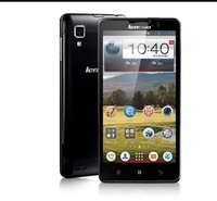 2013 free shipping wholesales Lenovo P780 Quad-Core Dual Sim 5.0'' screen  4000mAh battery Long standby smartphone Phone
