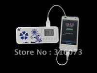 Newest  Professional FM Radio Usb SD Card Reader Speaker mobile power supply