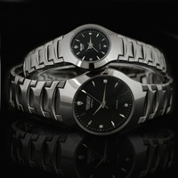 Business casual tungsten steel lovers watches a pair of fashion student table