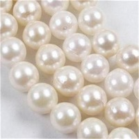 "HOT 6-7mm White Saltwater Akoya AA+ Pearl Round Loose Beads15"" B97"