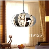 2013 new Pendant lamp for dinning room , stainless steel +crystal materia ,dia 35cm ,Dinning room light Free Shipping