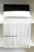 new 2013 brand designer tassel black white vintage day clutch / fashion women messenger bags ladies leather handbag shoulder bag