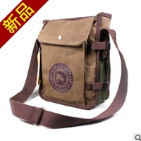Hot selling fashion casual cotton canvas cross body brown bag  should messenger bags designer brand for men gifts free shipping