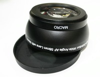 Professional Digital Micro 58mm 0.45x Wide Angle Lens for canon or nikon