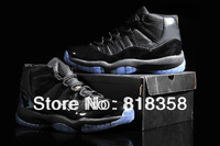 Cheap retro J 11 mens Basketball Shoes Black/Gamma Blue,j11 shoe sports sneakers for men in size: US 8 8.5 9.5 10 11 12 13
