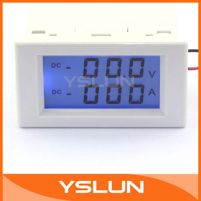 Вольтметр 2in1 Volt Amp Panel Meter 5 /0/199.9v /100 Electrica LCD 2 1 #100137 Dual display Meter dial tension gauge force meter dual pointer 0 5 n