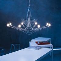 Lighting lamps modern iron pendant light bedroom